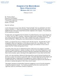 rep jeffries response letter to the nra s wayne lapierre letter 2 15 13 nra pdf