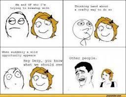 Break Up Memes | Kappit via Relatably.com