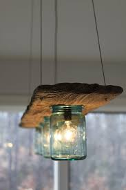 great idea for a creative kitchen lighting lamp made from old mason jars aussie lighting world
