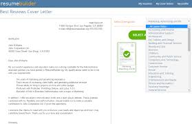 resumebuilder org reviews by experts users best reviews pre written cover letters