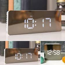 <b>Creative Led Digital Alarm</b> Clock Night Light Temperature Display ...