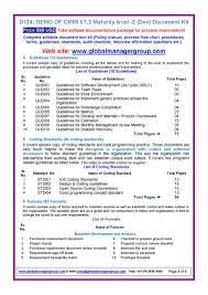 cmmi documentation for maturity level 2 pdf flipbook p 1 8