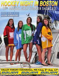 hnib girls summer showcase magazine by hockey night in boston 2015 hnib girls summer showcase magazine by hockey night in boston issuu