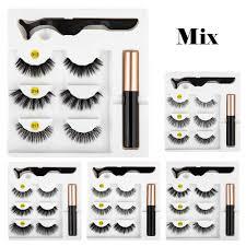New 10 <b>pairs mink</b> eyelashes 3d thick crossed false eyelashes ...