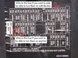 nissan b14 fuse box diagram nissan wiring diagrams