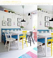 three ways to add colour with dining chairs bright coloured furniture