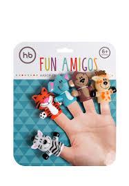 <b>Happy Baby</b> Набор <b>игрушек</b> на пальцы FUN AMIGOS: цвет Цвет ...