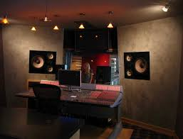 cool studio interior with excllent wall accent and artistic lighting setup design artistic lighting and designs