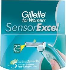 <b>Сменные кассеты Gillette</b> для бритвы Venus <b>Sensor Excel</b> ...
