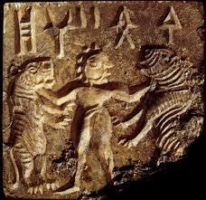 mohenjodaro seal figure grappling rampant tigers this motif is mohenjodaro seal figure grappling rampant tigers this motif is found on seals in mesopotamia