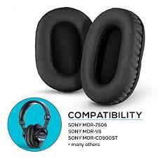 Brainwavz Pleather <b>Earpads for Sony</b> MDR 7506 - V6: Amazon.in ...
