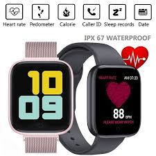 <b>T85 Fashion</b> Smart Watch Heart Rate <b>Waterproof</b> Smart Bracelet ...