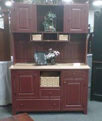 amish kitchen hutch pantry cabinet primitive country pine wood furniture cottage amish wood furniture home