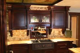 kitchen colour schemes cream colours wooden