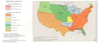 the expansion of slavery and the missouri compromise north map of the united states in 1820