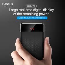 Best Discount of <b>BASEUS</b> 10000mAh Dual USB External <b>Power</b> ...
