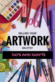 Etsy Art Selling Your Art On Etsy Dos And Donts Diyartcareer