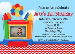 boy birthday invitation templates printable birthday bounce house photo birthday invitations 1st birthday invitation
