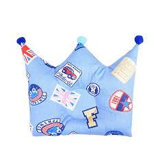 XuBa <b>Cute Cartoon</b> Crown Shape <b>Prevents</b> Partial Head Soft Pillow ...