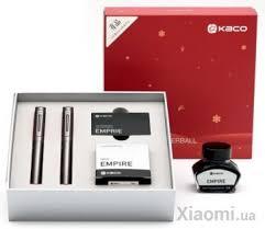 <b>Набор</b> Xiaomi <b>KACO</b> 2 ручки + <b>сменные картриджи</b> Grey купить в ...