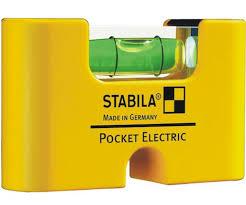 <b>Уровень</b> карманный тип <b>Pocket Electric Stabila</b> 17775 6,7 см
