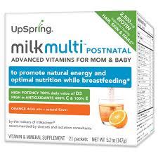 Upspring Milkmulti <b>Advanced</b> Postnatal <b>Vitamin</b> Drink <b>Mix</b>