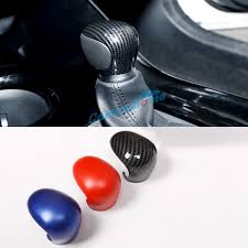 <b>Free Shipping</b> ABS Carbon Style Gear Shift Knob Cover Car Interior ...