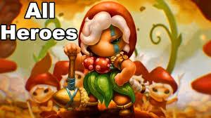 <b>Mushroom wars 2</b> all <b>hero</b> - YouTube