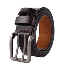 Belt <b>Men</b> Leather Casual Pin Strap <b>Business</b> Lengthen Girdle <b>Large</b> ...