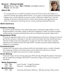 jobresumeweb good resume examples what does a good resume look like  summer of tech