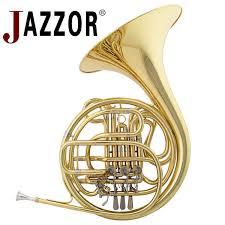 JAZZOR JZFH-310 <b>4</b>-<b>key</b> Double <b>French</b> Horn Entry Model, <b>Bb F</b> ...