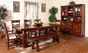 Kitchen Table With Benches Set Dining Room Set With Bench Seating