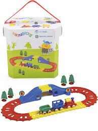 """""""<b>Железная дорога</b> с поездом"""", в коробке <b>VIKING TOYS</b> 11534028 ..."""