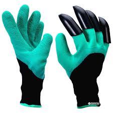 Садовые перчатки Garden Gloves с пластиковыми ... - ROZETKA