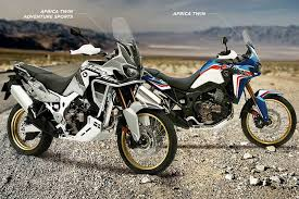 New Colors and Pricing for 2019 <b>Honda Africa Twin</b> Lineup - ADV ...