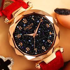 Fashion <b>Women Watches 2019</b> Best Sell Star Sky Dial Clock Luxury ...