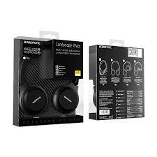 <b>Наушники Borofone BO6 Poise</b> rhyme wireless headphones - Black