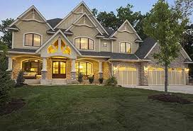 House Plans With Interior Photos   Beautiful Homes For Grand LivingHouse Plans  Gorgeous Gabled Dream Home