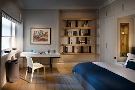 alcove desk ideas bedroom contemporary with cool bedroom laundry basket roman shades alcove contemporary home office