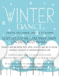 hadley middle school pto winter dance dec