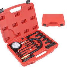 UK <b>17 pcs Diesel</b> Engine Compression Tester Kit Tool Set ...
