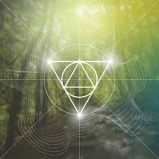 Interlocking Circles And Triangles <b>Hipster</b> Sacred Geometry ...