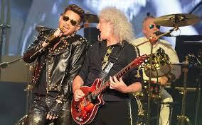Resultado de imagem para Queen and adam lambert in stage