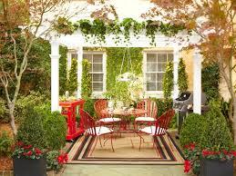 front yard design vintage style red garden furniture antique furniture decorating ideas