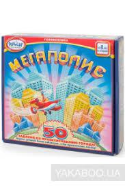 Настольная игра-<b>головоломка Popular Playthings Мегаполис</b> ...