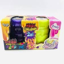 "<b>Вязкая масса</b> для лепки <b>Danko Toys</b> 2 в 1 ""Mega Stretch Slime"" и ..."