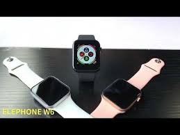 ELEPHONE Smartwatch -- <b>W6</b> - YouTube