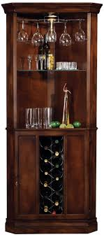 howard miller piedmont rustic cherry corner bar cabinet bar corner furniture