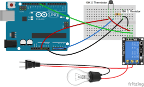 how to set up the dht11 humidity sensor on an arduino how to set up a 5v relay on the arduino