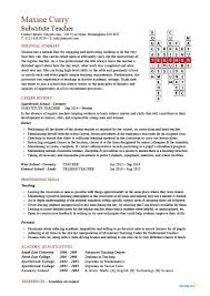 substitute teacher resume example  template  sample  teaching    substitute teacher crossword template  buy the editable versions of this template for  only
